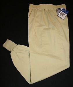 NWT Crest Scrub Pants M Women's Pistachio Cream Nursing Vet Style 191