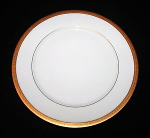 MINT Noritake Contemporary Queens Gold 4285 Dinner Plate MULTIPLES AVAILABLE