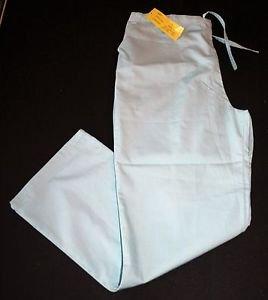 NEW Natural Uniforms Scrub Pants L Sea Green Womens Nursing Vet #P101