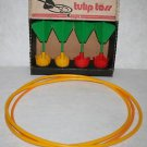 VINTAGE Eagle Tulip Toss Game Lawn Darts