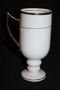 Vintage Porcelaine Empire Irish Coffee Pedestal Cup Mug MULTIPLES AVAILABLE