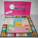 Vintage Bresee PASS OUT 25th Anniversary Edition Adult Drinking Party Board Game