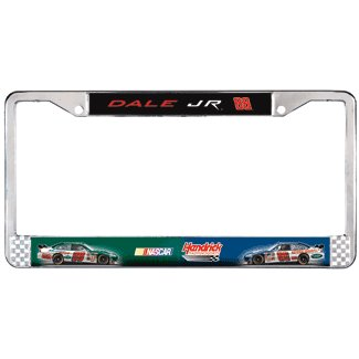 Dale Earnhardt Jr. Chrome License Plate Frame #88