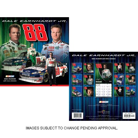 "NEW.... 2008 Dale Earnhardt Jr. Calendar 12"" x 12"""
