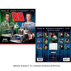 "NEW.... 2008 Dale Earnhardt Jr. Calendar 12"" x 12"""