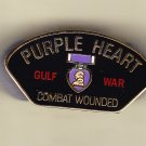 Gulf War Veteran Purple Heart Hat Pin
