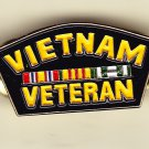 Vietnam Veteran Hat Pin