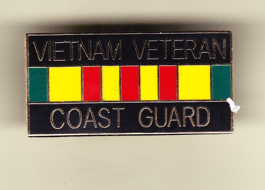 Vietnam Veteran Coast Guard Hat Pin