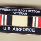 Iraq Veteran Air Force Hat Pin