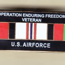 Afghanistan (Enduring Freedom) Veteran Air Force Hat Pin