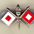 Signal Corps Hat Pin