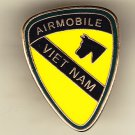 1st Cavalry Air Mobile Vietnam Hat Pin