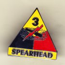 3rd Armored Division Hat Pin