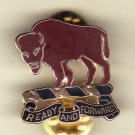 10th Cvalry Regiment Left Hat Pin