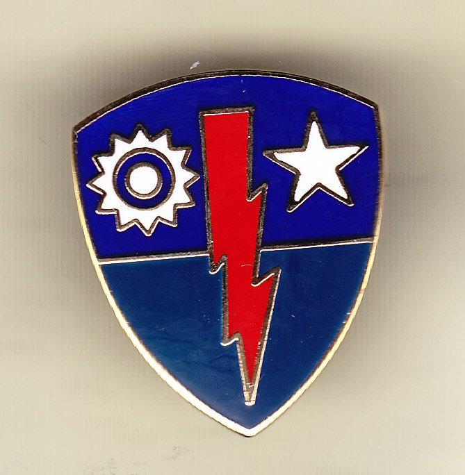 75th Infantry Brigade Hat Pin