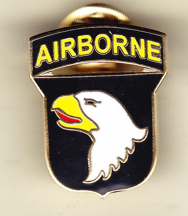 101st Airborne Division Hat Pin