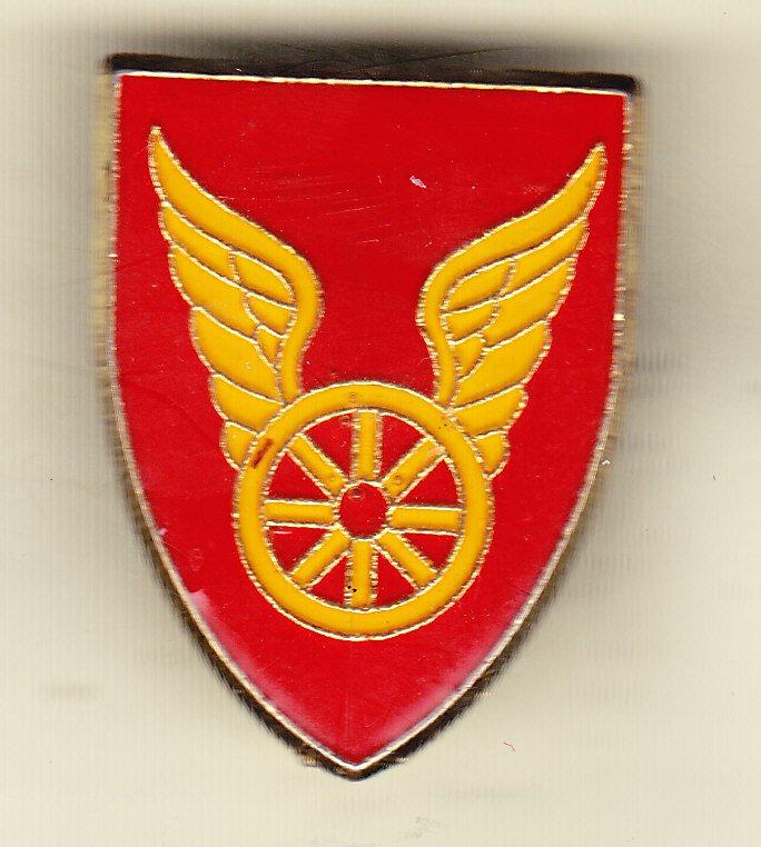 124th Transportation Battalion Hat Pin