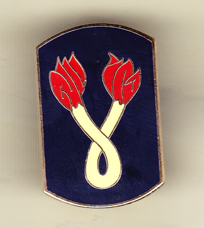 196th Infantry Brigade Hat Pin