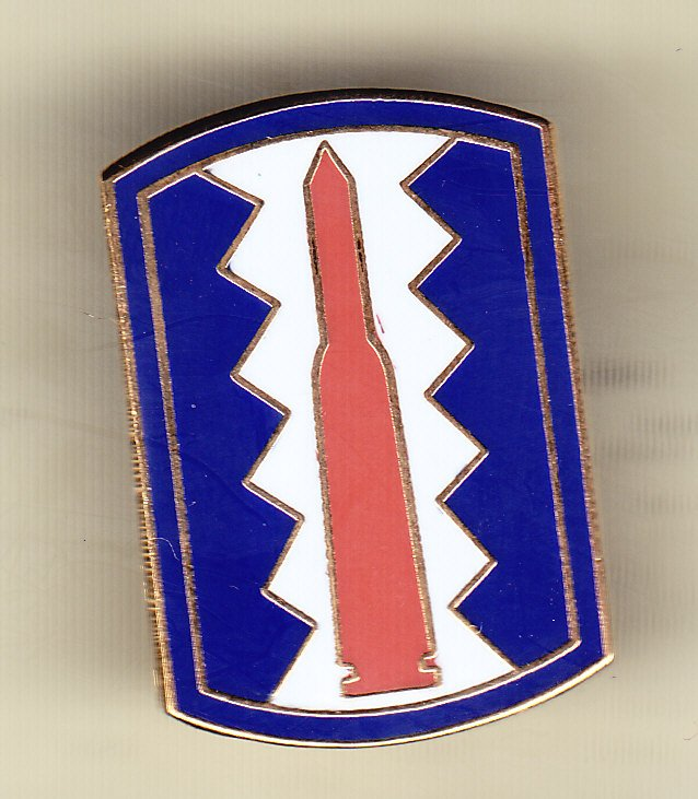 197th Infantry Brigade Hat Pin