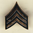E-5 Army Sergeant Hat Pin