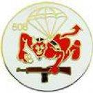 508th Airborne Regiment Hat Pin