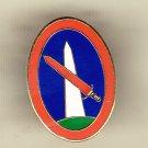 Military District Washington Hat Pin