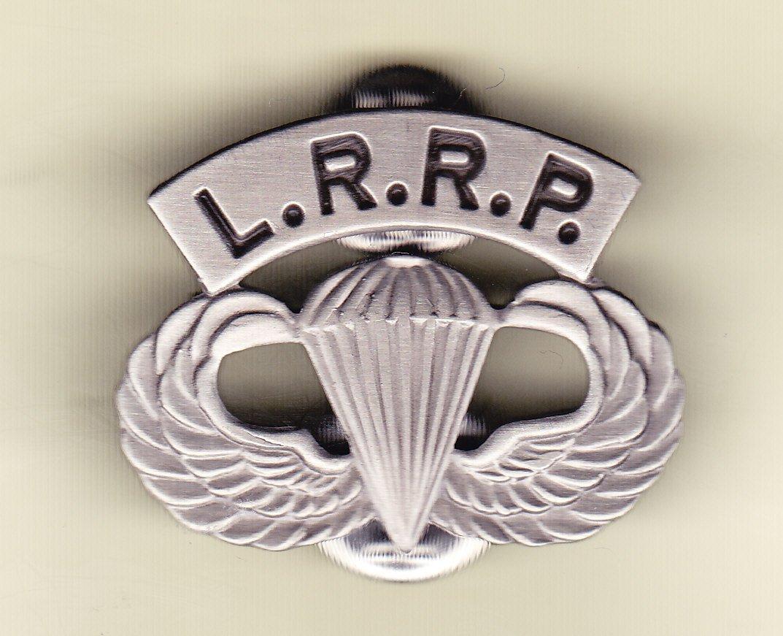 Long Range Recon Patrol (LRRP) Hat Pin