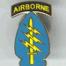 Airborne Special Forces Hat Pin