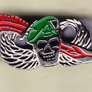 Special Forces w/skull Hat Pin