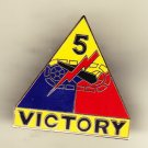 5th Armored Division Hat Pin