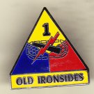 1st Armored Division Hat Pin