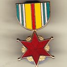 Vietnam Wound Medal Hat Pin