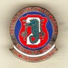 2nd Battalion 4th Marine Hat Pin