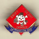 4th Marine Recon Hat Pin