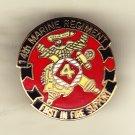 14th Marine Regiment Hat Pin