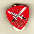 21st Marine Regiment Hat Pin