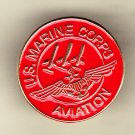 Marine Aviation Hat Pin