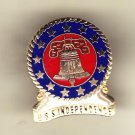 USS Independence CV-62 Hat Pin