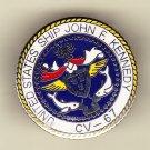USS John F Kennedy CV-67 Hat Pin