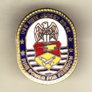 USS New Jersey BB-62 Hat pin