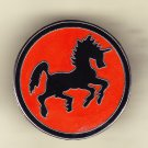 Black Ponies Hat Pin