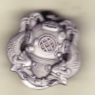 Diver 2nd Class Hat Pin