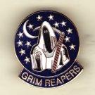 Navy Grim Reapers Hat pin