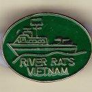 River Rats Vietnam Hat Pin