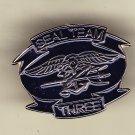 Seal Team Three Hat Pin