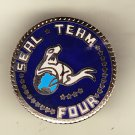 Seal Team Four Hat Pin