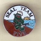 Seal Team Five Hat Pin