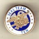 Seal Team Ten Hat Pin