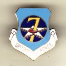 7th Air Force Hat Pin