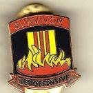 Survivor TET Hat Pin